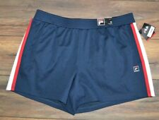 Womens Fila Sport Navy Shorts Workout Gym Crossfit Running Plus Size 1X
