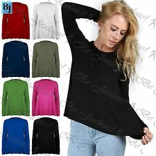 Long Sleeve Unbranded Plus Size Tops & Shirts for Women