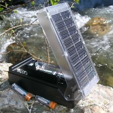 ***New Solar Battery Charger For AA' w/ Meter With 2 AA Rechargeable Batteries!!