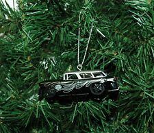 1955 Chevrolet Nomad With Harley-Davidson Logo Christmas Ornament
