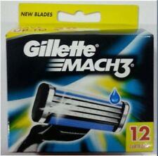 GILLETTE MACH 3  RASIERKLINGEN 12er Pack NEUWARE