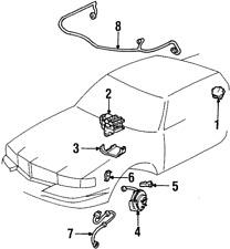 ABS Wheel Speed Sensor Wire Harness ACDelco GM Original Equipment 12128938
