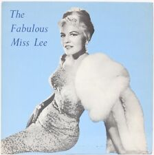 The Fabulous Miss Lee  Peggy Lee Vinyl Record