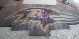 Baltimore Ravens Canvas Painting Photo Print Wall Art Fan Home Decor