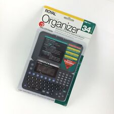 Royal Personal Organizer Dm75ex 34kb Telephone Memory LCD Display Trilingual