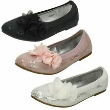Chaussures habillées en synthétique à enfiler pour fille de 2 à 16 ans