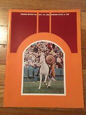 11/16 1968 OREGON VS. USC PIGSKIN REVIEW PROGRAM