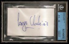 George Chakiris Oscar Academy Award Signed Auto Index Card JSA Certified