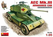 Miniart 1/35 AEC Mk.lll Armoured Car#35159