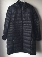 Calvin Klein Large Jacket Hooded Quilted Packable Winter Waterfowl Women's 12937