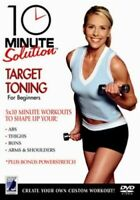 10 Minute Solution: Target Toning DVD (2006) cert E ***NEW*** Quality guaranteed