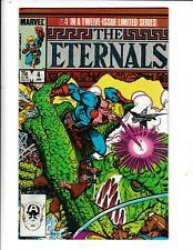 THE ETERNALS  #4 IN A TWELVE -ISSUE LIMITED SERIES  VF/FN  MARVEL COMICS