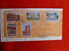 1961 SURINAME BUILDINGS SET OF 5 STAMPS  FDC 15 MAY