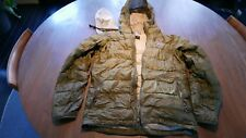 Patagonia Men's Down Sweater Jacket SMALL Olive Goose Puffer Winter Hoody