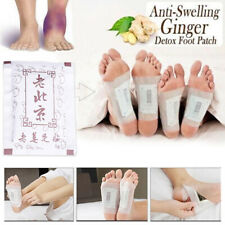 10Patch Natural Ginger Detox Foot Pads Detoxify Adhesive Keeping Fit Health Care