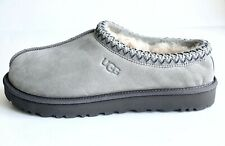 UGG TASMAN SEAL GREY WOMEN'S SUEDE SHEEPSKIN COMFORT SLIPPERS US SIZE 11