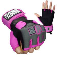 Ringside Gel Shock Boxing Glove Wraps - Pink/Black
