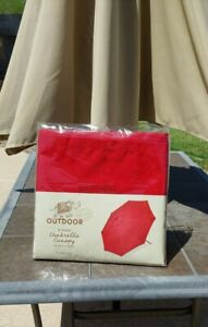 Replacement Umbrella Canopy 9 Foot Barbados Cherry World Market Exclusive