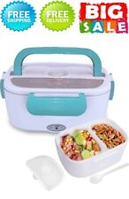New listing Electric Heating Lunch Box Food Storage Warmer Food Heater Portable Lunch