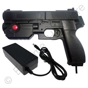 Ultimarc AimTrak Black Arcade Recoil Light Gun & 24V 3A Power Supply Pack PSU