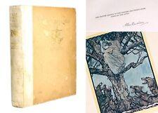 JAMES STEPHENS -IRISH FAIRY TALES- 1920, ILLUSTRATED BY ARTHUR RACKHAM, SIGNED