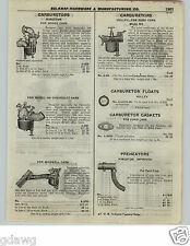 1922 PAPER AD Kingston Holley Carburetor Maxwell Chevrolet Ford Cars Dodge