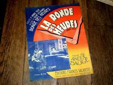 La ronde des heures fox chanté film La Ronde des Heures piano chant 1931 P. Read