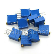 100 x 3296W 3296 Trimmer Potentiometer 10K Ohm Pot Variable Resistor 3296W - 103