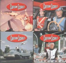 Captain Scarlet set of four Coasters