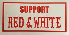 Hells Angels  SUPPORT RED & WHITE  Aufkleber Sticker Original 81 Sticker