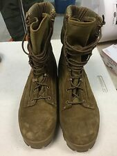 Bates E30501 DuraShocks Hot Weather Olive Mojave USMC Boots Size 9.5 EW