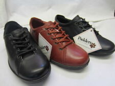 Padders Leather Lace Up Flats for Women