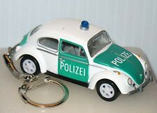 1966 VOLKSWAGEN POLIZEI POLICE BEETLE CUSTOM KEY CHAIN WE SHIP WORLDWIDE!