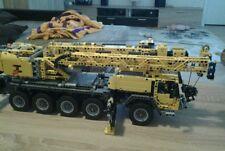 Bauanleitung instruction Wippspitze Mast 42009 Eigenbau Unikat Moc Lego Technic