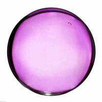 Glaskugel Dekokugel Kristall Wahrsager Kugel 15 cm in lila B-Ware