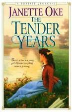 The Tender Years A Prairie Legacy series Book 1 paperback Janette Oke FREE SHIP