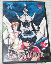 Escaflowne Betrayal and Trust  DVD 4 Episodes 2000 Bandai Adult Owned Volume 2