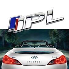 Q50 IPL Performance Logo Metal Car 3D Sticker for Infiniti Q50 Emblem
