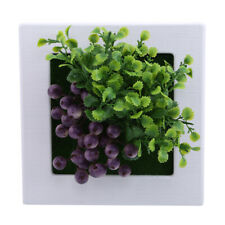 Gifts Diy Crafts Artificial Flowers Wall Art Simulation Plant Pvc Home Decor HY
