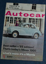 August Autocar Cars, 1960s Transportation Magazines
