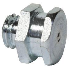 M8 x 1,25 [100 Stück] DIN 3404 T1B Flachschmiernippel Stahl verzinkt