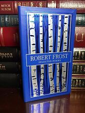 Selected Poems of Robert Frost Brand New Pocket Leather Bound Collectible Poetry