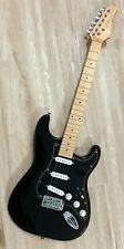 2021 Elite® Stratocaster Style Guitar w/ Gilmour MOD Black Strat SSS LTD Maple