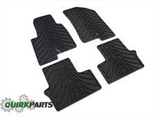 08-12 Dodge Caliber DARK SLATE GRAY RUBBER SLUSH MATS FRONT & REAR OEM NEW MOPAR