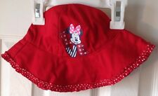 Disney Hat Minnie Mouse Red NWT Infant