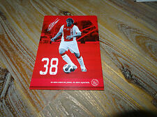 SIEM DE JONG - NEWCASTLE PSV & HOLLAND - AJAX 2007/08 UNSIGNED AUTOGRAPHCARD **