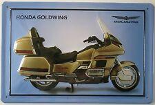 HONDA - GOLDWING , BLECHSCHILD