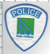 Trois-Rivieres Police (Canada) Shoulder Patch from the 1980's