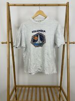 VTG Columbia Shuttle Cnew Members Single Stitch T-Shirt Size XL