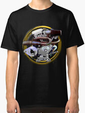 Confederate Hellcat Combat Motorcycle engine vintage T Shirt INISHED Productions
